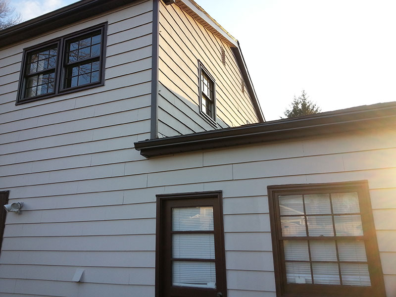Exterior Painting, Side of House